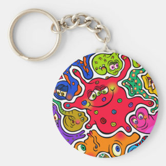 Jigsaw Germs Keychain