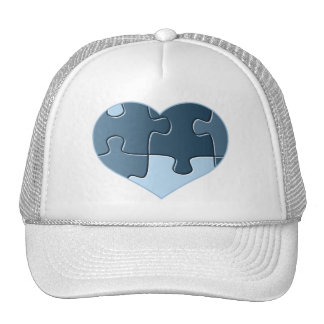 Jigsaw Heart Baseball Hat