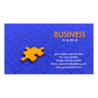 Jigsaw Piece Business Card