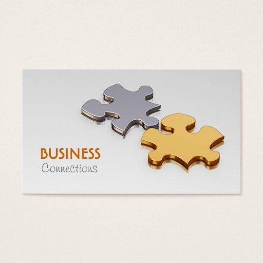 Jigsaw Pieces Business Card