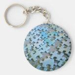Jigsaw Pieces Key Chain