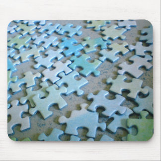 Jigsaw Pieces Mouse Pad