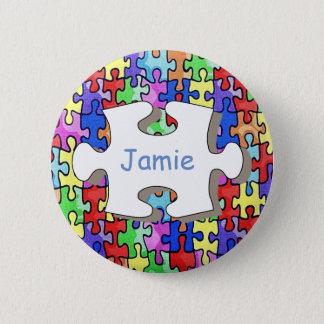 Jigsaw Pinback Button