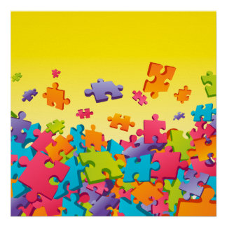 Jigsaw Posters