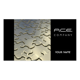Jigsaw Puzzle Business Card