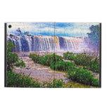 Jigsaw puzzle effect waterfall Ipad case