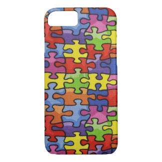 Jigsaw Puzzle fabric iPhone 8/7 Case