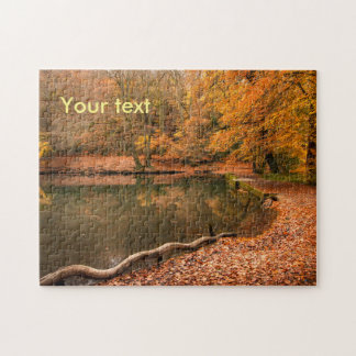 Jigsaw puzzle fall woodland autumn forest