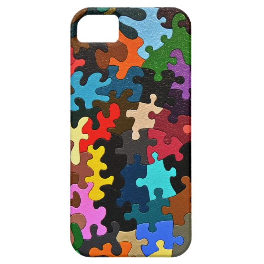 Jigsaw Puzzle iPhone SE/5/5s Case