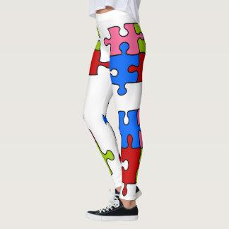Jigsaw puzzle leggings