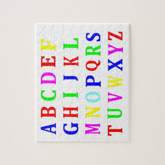 Jigsaw Puzzle - Letters