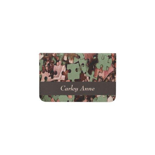 Jigsaw Puzzle Novelty Business Card Holder Zazzle