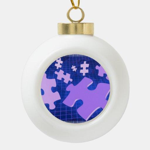 Jigsaw Puzzle Ornament