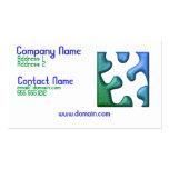 Jigsaw Puzzle Piece Business Card