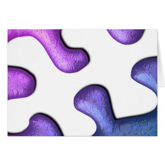 Jigsaw Puzzle Piece Greeting Card
