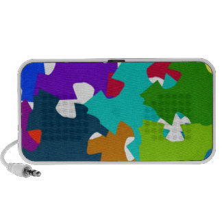 Jigsaw Puzzle Pieces Mini Speakers