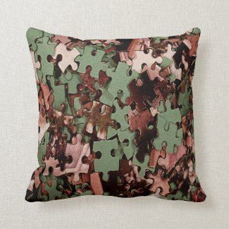 Jigsaw Puzzle Pillow