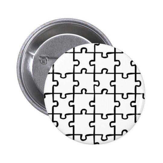 Jigsaw Puzzle Pinback Button