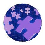 Jigsaw Puzzle Poker Chips Set