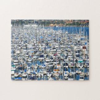 Jigsaw Puzzle - San Diego Marina