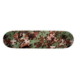 Jigsaw Puzzle Skateboard Deck