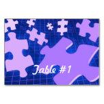 Jigsaw Puzzle Table Card