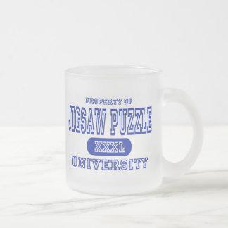Jigsaw Puzzle University Coffee Mug
