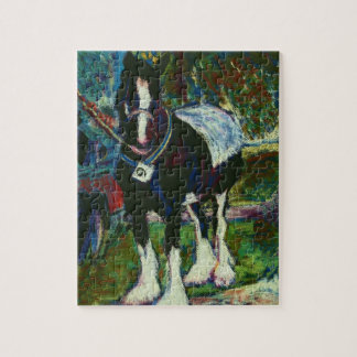 Jigsaw Puzzle with Shire Horse