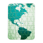Jigsaw Puzzle World Premium Magnet Vinyl Magnets