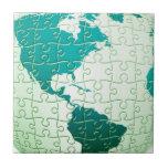 Jigsaw Puzzle World Tile or trivet