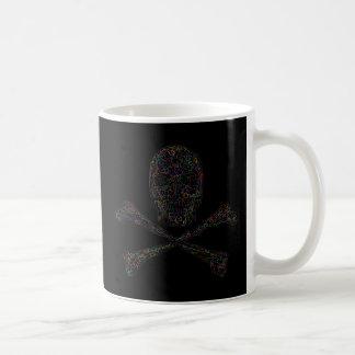 Jigsaw Skull & Crossbones - Color Coffee Mug