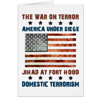 Jihad At Fort Hood Card