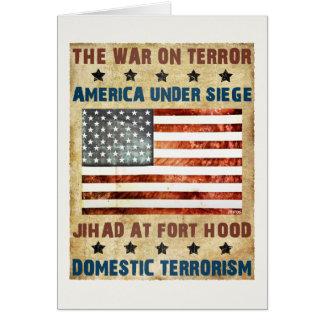 Jihad At Fort Hood Card