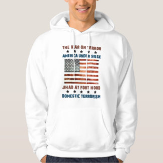 Jihad At Fort Hood Hooded Pullover