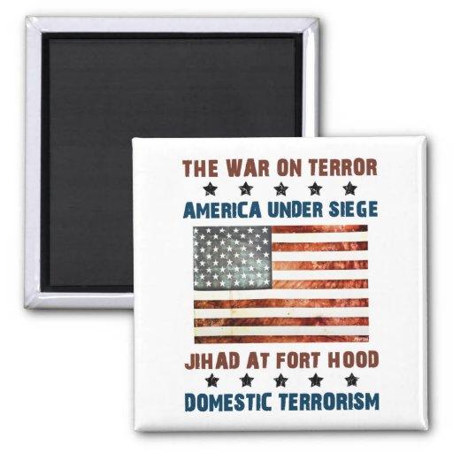 Jihad At Fort Hood Fridge Magnets