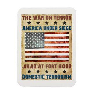 Jihad At Fort Hood Rectangular Photo Magnet
