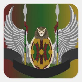 Jikoba Legacy Crest Square Sticker