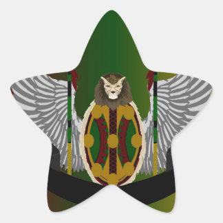 Jikoba Legacy Crest Star Sticker