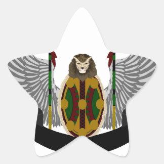 Jikoba Legacy Crest Star Stickers