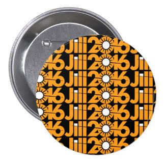 Jill2016 Pinback Button