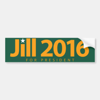 Jill 2016 bumper sticker