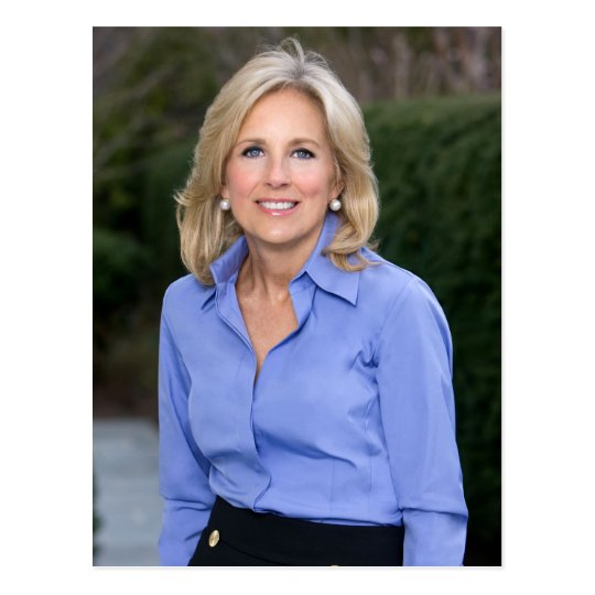 Jill Biden Post Card