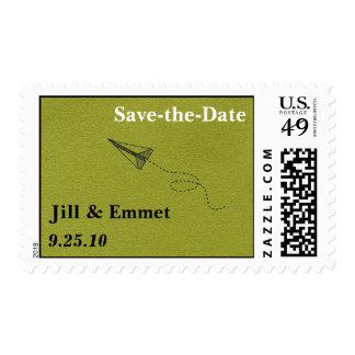 Jill & Emmet 3 Postage Stamp