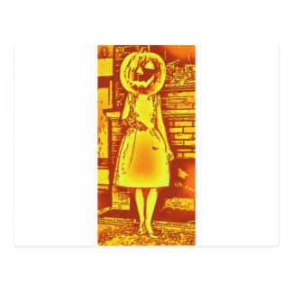 Jill O Lantern Postcard