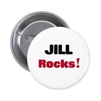 Jill Rocks Pinback Button
