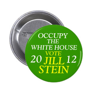 Jill Stein 2012 Button