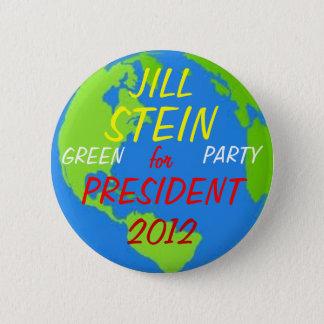Jill Stein 2012 button pink