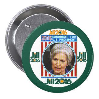 Jill Stein 2016 3 Inch Round Button