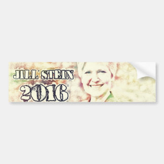 JILL STEIN 2016 Bumper Sticker - Digital Art