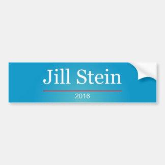 Jill Stein 2016 Pegatina Para Auto